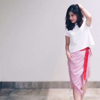 Celana Ikad Kulod Ubud- Beatrice Clothing - Red