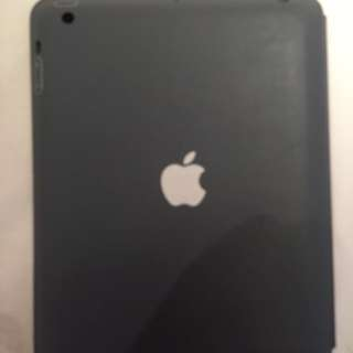 Grey apple iPad smart case