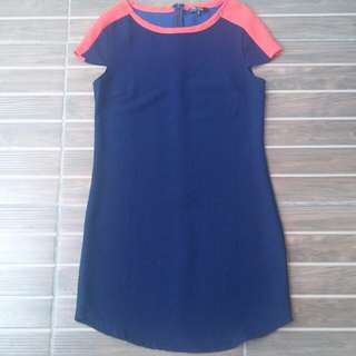 Preloved Zalora Navy Dress