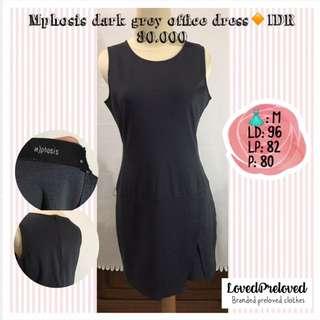 Mphosis grey office dress