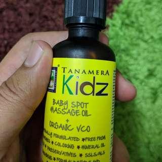 Tanamera KIDZ: Baby Spot Massage Oil