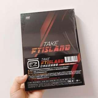 🚚 絕版TAKE FTISLAND亞洲巡迴演唱會DVD