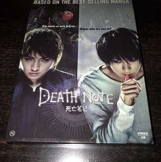 VCD Death Note 死亡笔记