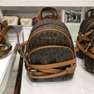 Pre-order: MK EXTRA SMALL ABBEY BACKPACK