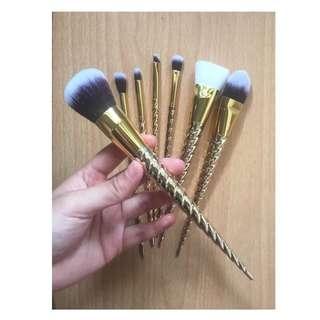 Unicorn Brush Gold (7pcs)