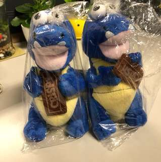 Blue Dino Soft Toy