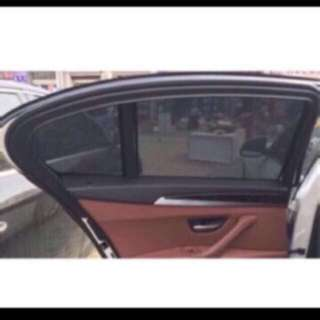 Customized Car Sunshades in Magnetic Mesh