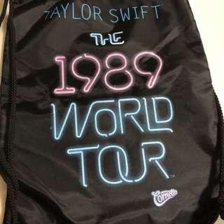 Taylor Swift 1989 drawstring bag