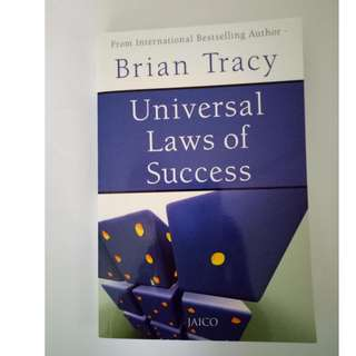 Universal Laws of Success by Brian Tracy