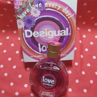 Authentic Desigual Love 30ML