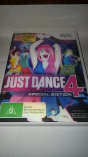 17/19  (Wii Game) Just Dance 4 (Special Edition) PAL