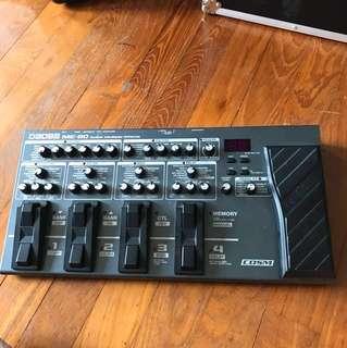 Boss ME-80 guitar effects pedal