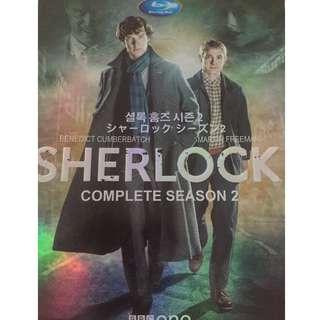 BBC Sherlock Season Two (DVD 2 pieces)