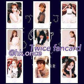(Pre-order) Twice season greeting fancard