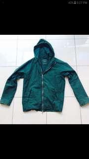 Pull&Bear Semi Parka Jacket Olive Green