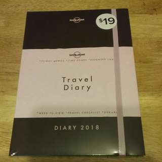 Lonely planet travel diary 2018