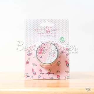 """Pretty White Natural Care Lip Balm / Pemerah Bibir / BPOM dan Original"