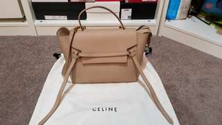 Celine Mini Belt Bag Light Taupe
