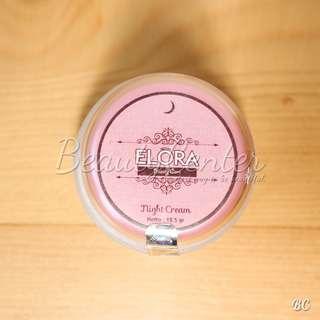"""[ELORA] Night Cream / Cream Malam Elora Beauty Care / Original"