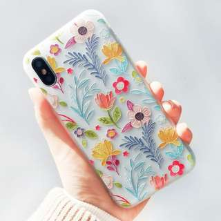 Iphone case手機殼 半透浮雕