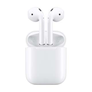 APPLE AIRPODS WIRELESS BLUETOOTH HEADSET MMEF2  -  new
