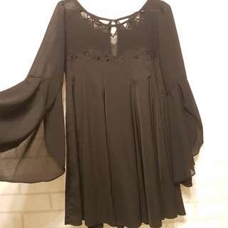 仙女洋裝 黑色 #好想找到對的人#舊愛換新歡#有超取最好買#幫我除舊佈新