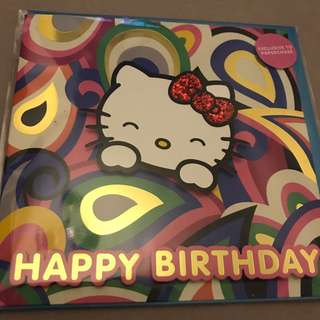 Hello Kitty Birthday Cards Limited Edition