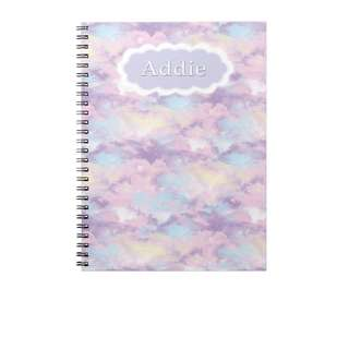 Personalized Notebooks - Bubble Gum Sky