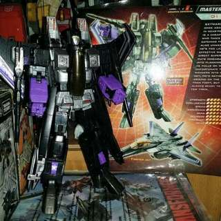 Transformers Masterpiece Hasbro MP Skywarp G1 Walmart Exclusive