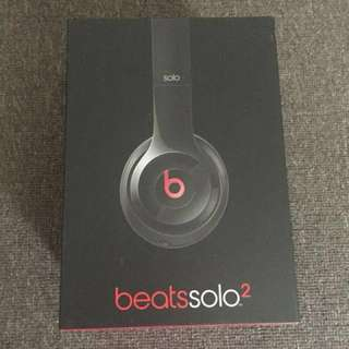 Beats solo headphones - wired