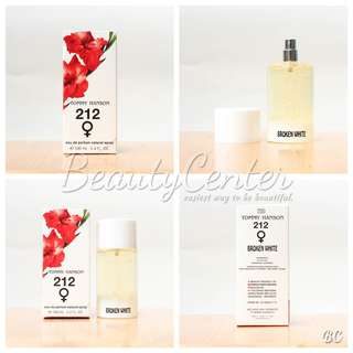 """Parfum Tommy Hanson 212 Broken White / 100ml"
