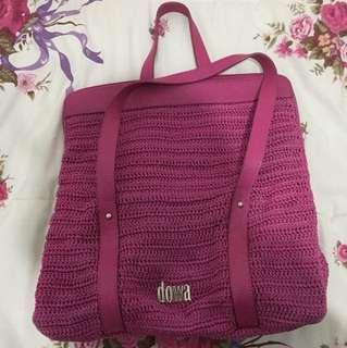 DOWA Bag Fuschia