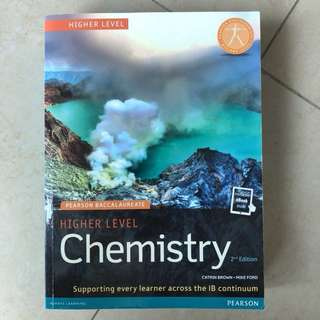 IB Chemistry HL Textbook (Pearson 2nd Edition)