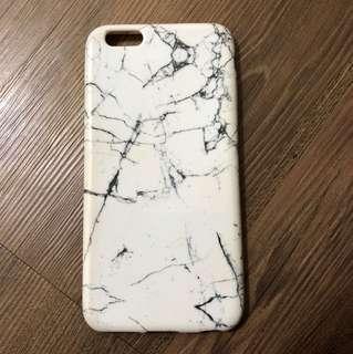 (包郵) 雲石 大理石 iphone6plus case