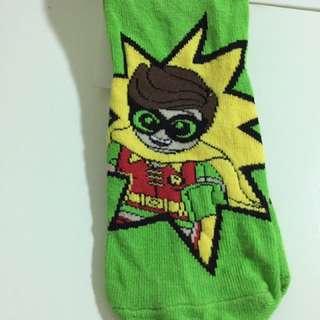 BNWT H&M Batman & Robin Socks