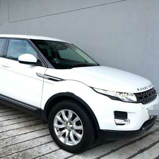 Range Rover Evoque  2.0L Turbocharged Engine 6 Speed Auto Transmission 2013 Status : 🇸🇬  (S'PORE) Excellent Condition  For Spare Parts Or Track Use.  Interested Pls Click 👇 (CHAT)