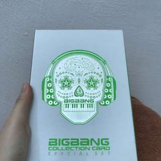 (LIMITED EDUTION) BIGBANG Special Edition Card