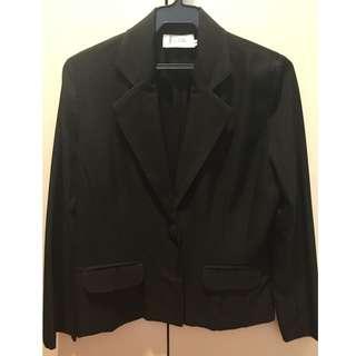 Women's black blazer - generic brand, preloved