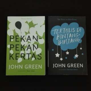 Malay Novel by John Green