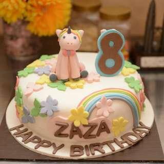 Cake ulang tahun Little pony