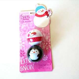 Snow Flurries Lip Balm