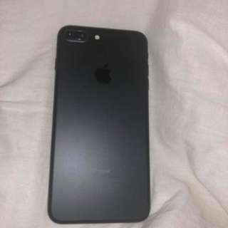 iPhone 7 Plus 128gb matte black