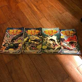 Sea Quest #1-4(Collect Them All!)