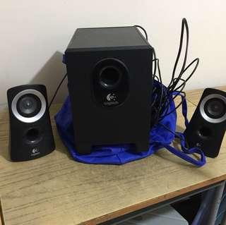 Logitech Audio 音箱一set