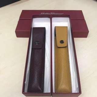 Salvatore Ferragamo pen pouch / pen case筆套