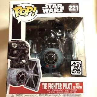 Star Wars tie fighter pop ride
