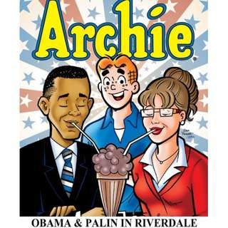 Archie: Obama and Palin in Riverdale