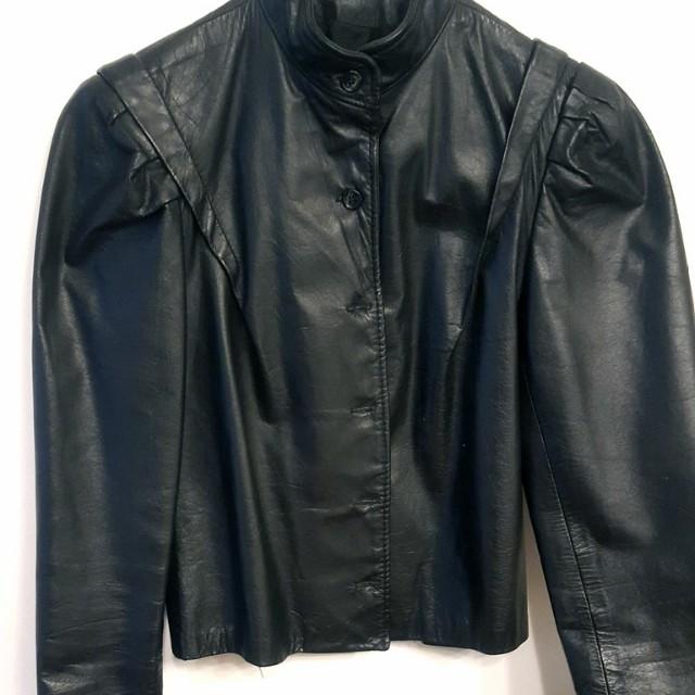 1970s Women's Leather Jacket