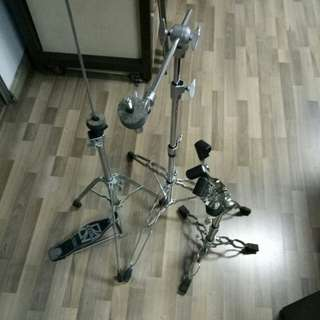 Drum hardware (Yamaha,  tama)