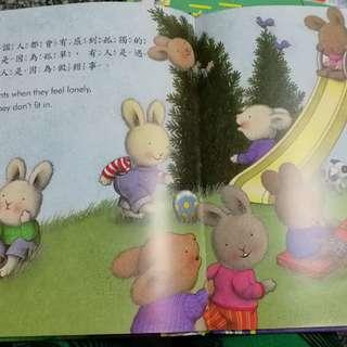 童書~毛毛兔的情緒成長繪本寶盒Ⅱ